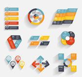 Коллекция шаблонов инфографики для бизнес вектор illustra — Cтоковый вектор