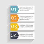 Infographic Templates for Business Vector Illustration — Stock Vector