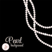 Pearl Background — Stock Vector