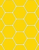 甘い蜂蜜のベクトル図の背景 — ストックベクタ
