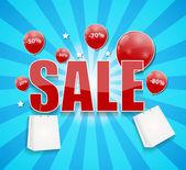 Discount Sale — Stock Vector