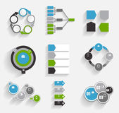 Collection of Infographic  for Business — Vecteur