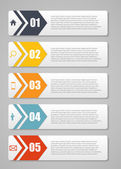 Infographic Templates for Business Vector Illustration. — Vector de stock