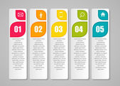 Infographic Templates for Business Vector Illustration. — 图库矢量图片