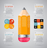 Infographic Templates for Business Vector Illustration. — Stockvector