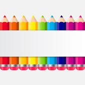 Powrót do szkoły koncepcja ilustracji wektorowych — Wektor stockowy
