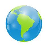 Globe Icon Vector Illustration for Your Design — Stock Vector