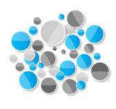 Infographic mallar för business vektor illustration. eps10 — Stockvektor
