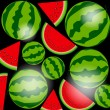 Background From Watermelon — Stock Vector #49545959