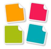 Stickers Set for your Business Vector Illustration — Stockvektor