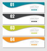 Infographic şablonları iş vektör çizim için. — Stok Vektör