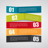 Infographic Origami Templates for Business Vector Illustration. — 图库矢量图片