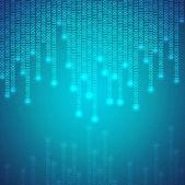 Binární pozadí — Stock vektor