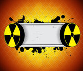 Radiation background — Stock Vector