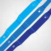 Modèle infographique — Vecteur