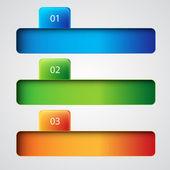 Plantilla de infografía — Vector de stock