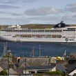 MSC Cruise ship in Scotland, Shetland Island — Stock Photo #14552363