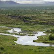 Iceland - Thingvellir National Park - Golden Circle - Stock Photo