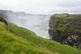 Islandia złoty krąg gullfoss złoty spada — Zdjęcie stockowe
