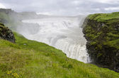 Iceland- Golden Circle-Gullfoss — 图库照片