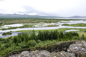 Iceland - Thingvellir National Park - Golden Circle — Foto de Stock