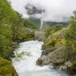 Norway - Jostedalsbreen National Park - Nature - Stock fotografie