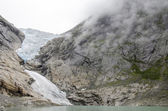 Norway - Briksdal glacier - Jostedalsbreen National Park — Stock Photo