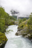 Norway - Jostedalsbreen National Park - Nature — Stockfoto