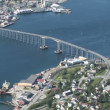 Norway Tromso Panoramic Time Lapse - Stock Photo