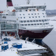 Stock Photo: Viking Line - Ship - Port of Turku