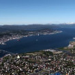 Norway - Tromso Panoramic - Travel destination -  Northern Europe — Stock Video