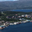 Norway - Tromso Panoramic - Travel destination -  Northern Europe - Stock Photo