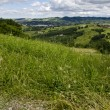 Stock Photo: View from hill - Northern Italy