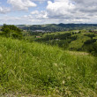 Stock Photo: View from the hill - Northern Italy