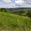 View from the hill - Northern Italy — Stock Photo