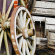 Vintage wagon wheels - HDR — Stock Photo #26843263