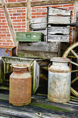 Arrangement of old stuff - HDR — Foto Stock