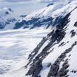 Alaska, aerial view of mountain — Stock Photo