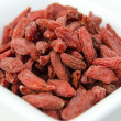 Super-fruits - Dried goji berries — Stock Photo #27614641