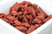 Супер-Фрукты - сушеные ягоды годжи — Стоковое фото