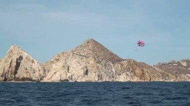 Mexico - Cabo San Lucas - Parasailing — Stock Video