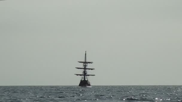 Bateau de pirate voile - partie 3 — Vidéo
