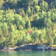 Norway - Hellesylt - Travel destination for cruise ships — Stock Video