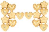 Arrangement of biscuits — Stock Photo