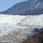 USA Alaska - Mendenhall Glacier - Texture — Stock Photo