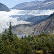 USA Alaska - Mendenhall Glacier and Lake — Stock Photo