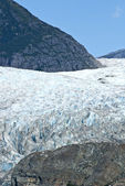 USA Alaska - Mendenhall Glacier - Texture — Stock Photo