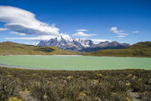 Patagonien - torres del paine nationalpark — Stockfoto