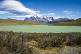 Torres del paine nationalpark - idylliska — Stockfoto