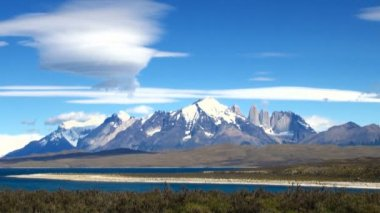 Torres del paine Millî Parkı — Stok video